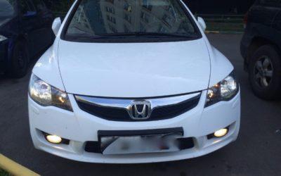 Подобран а\м Honda Civic 4D Executive, 2011г.в